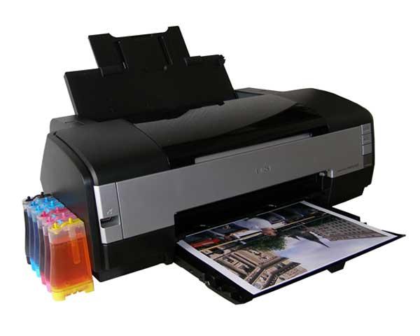 Принтер с сублимационными чернилами